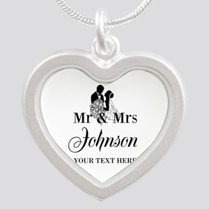 Personalized Mr And Mrs Necklaces For Wife